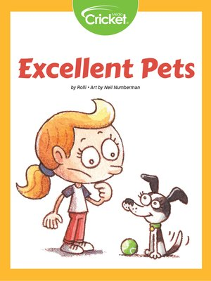 cover image of Excellent Pets
