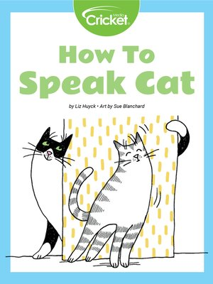 cover image of How to Speak Cat