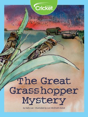 cover image of The Great Grasshopper Mystery