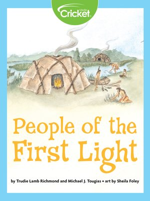 cover image of People of the First Light
