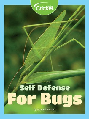 cover image of Self-Defense for Bugs