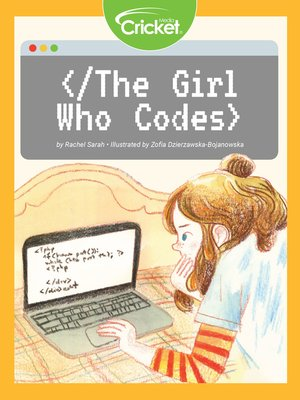 cover image of The Girl Who Codes