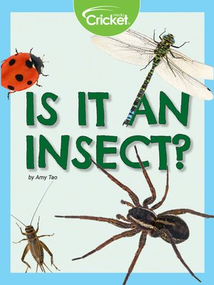 cover image of Is It an Insect?