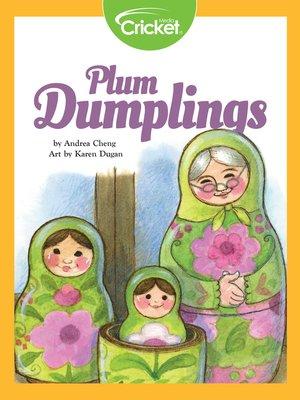 cover image of Plum Dumplings