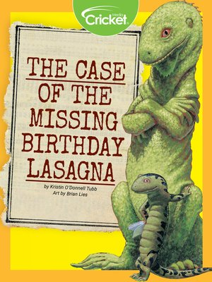 cover image of Case of the Missing Birthday Lasagna