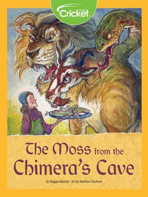 cover image of The Moss from the Chimera's Cave