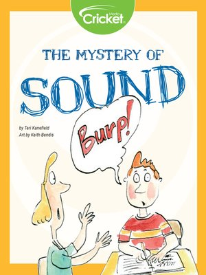 cover image of The Mystery of Sound