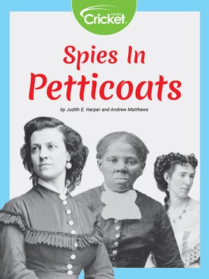 cover image of Spies in Petticoats
