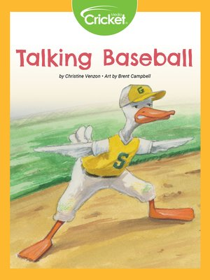 cover image of Talking Baseball