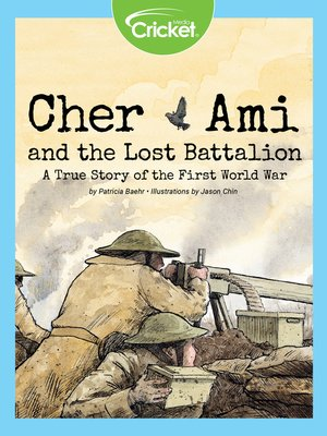 cover image of Cher Ami and the Lost Battalion