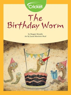 cover image of The Birthday Worm