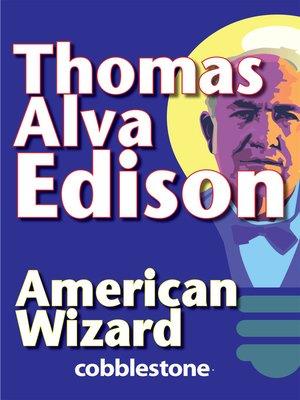 cover image of Thomas Alva Edison