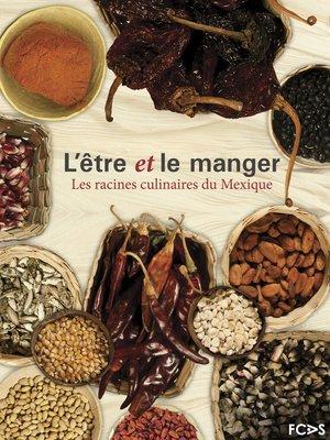 cover image of L'être et le manger
