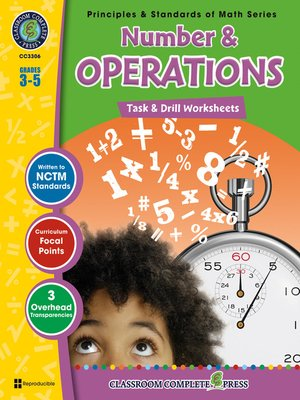 cover image of Number & Operations - Task & Drill Sheets