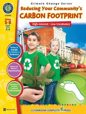 cover image of Reducing Your Community's Carbon Footprint
