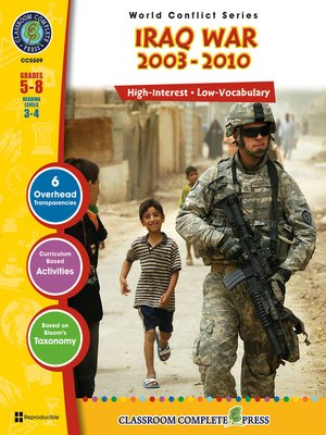 cover image of Iraq War (2003-2010)