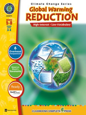 cover image of Global Warming: Reduction