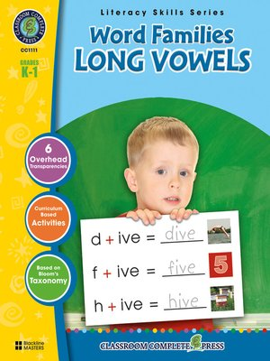 cover image of Word Families - Long Vowels