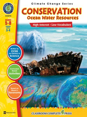 cover image of Conservation: Ocean Water Resources
