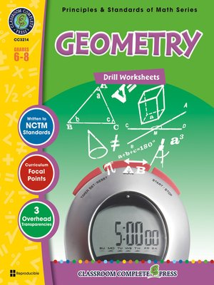 cover image of Geometry - Drill Sheets