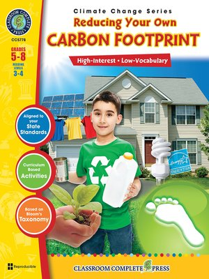 cover image of Reducing Your Own Carbon Footprint