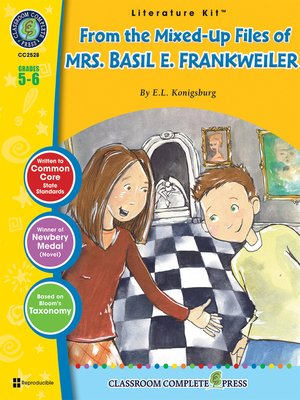 cover image of From the Mixed-Up Files of Mrs. Basil E. Frankweiler (E.L. Konigsburg)