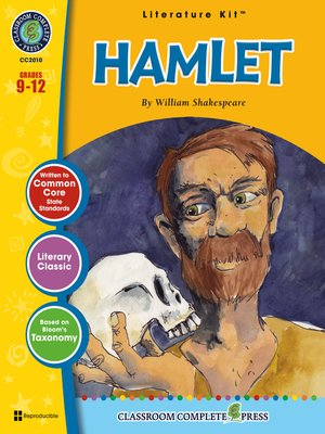 cover image of Hamlet--William Shakespeare