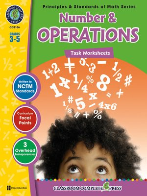 cover image of Number & Operations - Task Sheets