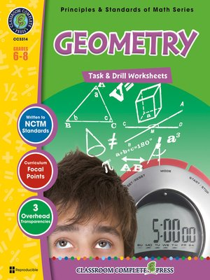 cover image of Geometry - Task & Drill Sheets