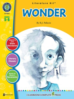 Wonder (R J  Palacio) by Marita Cockburn · OverDrive