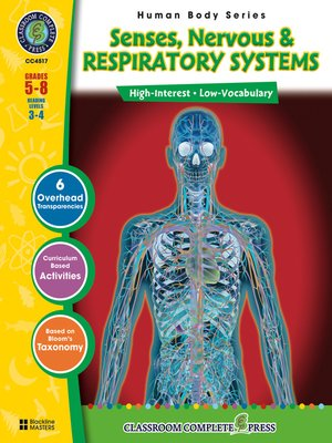 cover image of Senses, Nervous & Respiratory Systems