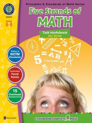 cover image of Five Strands of Math - Tasks Big Book