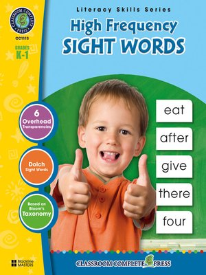 cover image of High Frequency Sight Words