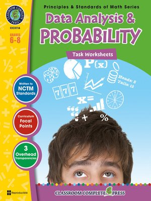 cover image of Data Analysis & Probability - Task Sheets