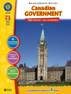 cover image of Canadian Government