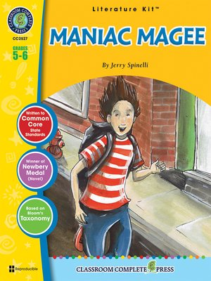 cover image of Maniac Magee--Jerry Spinelli