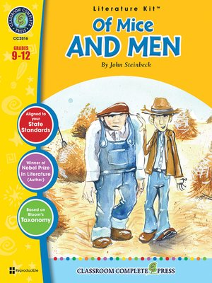 cover image of Of Mice and Men (John Steinbeck)