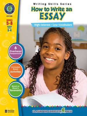 cover image of How to Write an Essay