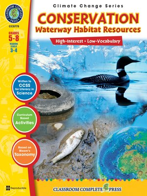 cover image of Conservation: Waterway Habitats Resources