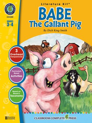cover image of Babe: The Gallant Pig
