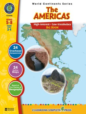 cover image of The Americas Big Book