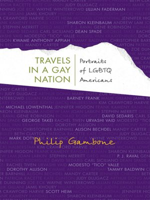 cover image of Travels in a Gay Nation