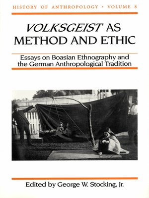 cover image of Volksgeist as Method and Ethic