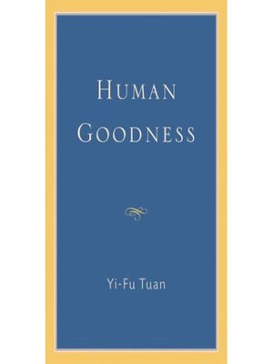 cover image of Human Goodness