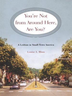cover image of You're Not from Around Here, Are You?