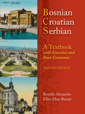 cover image of Bosnian, Croatian, Serbian, a Textbook
