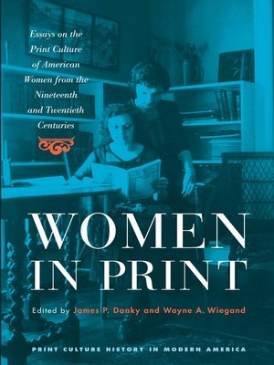 cover image of Women in Print