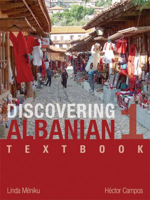 cover image of Discovering Albanian I Textbook