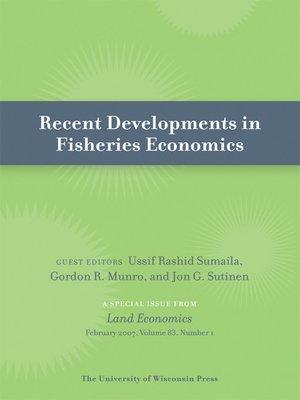 cover image of Recent Developments in Fisheries Economics