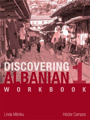cover image of Discovering Albanian I Workbook